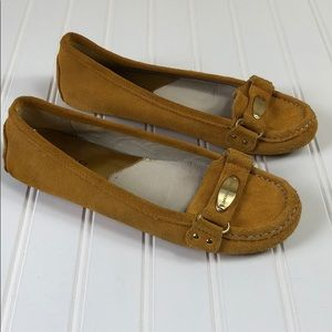 Michael Kors Sued Driving Loafers moccasins size 8